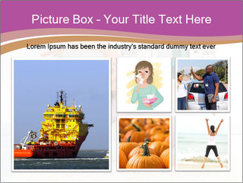 A pregnant girl PowerPoint Template - Slide 19