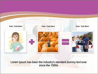 A pregnant girl PowerPoint Template - Slide 22
