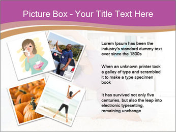 A pregnant girl PowerPoint Template - Slide 23
