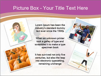 A pregnant girl PowerPoint Template - Slide 24