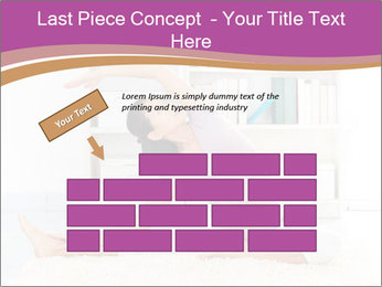 A pregnant girl PowerPoint Template - Slide 46