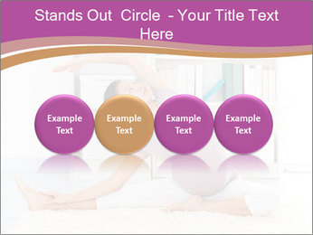 A pregnant girl PowerPoint Template - Slide 76