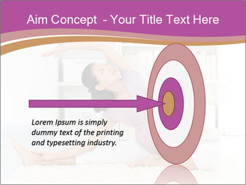 A pregnant girl PowerPoint Template - Slide 83