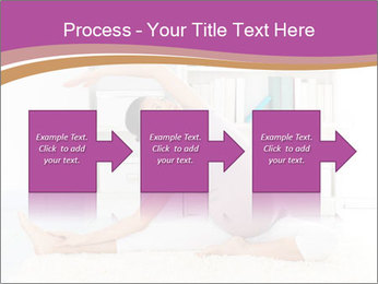 A pregnant girl PowerPoint Template - Slide 88