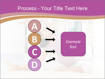 A pregnant girl PowerPoint Template - Slide 94
