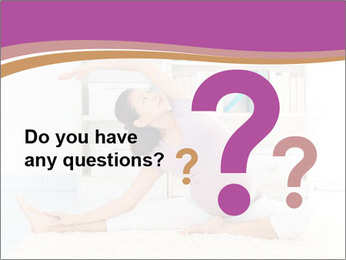 A pregnant girl PowerPoint Template - Slide 96