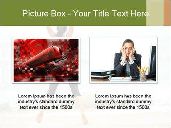 Girl on the beach PowerPoint Template - Slide 18
