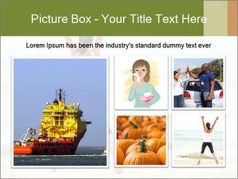 Girl on the beach PowerPoint Template - Slide 19