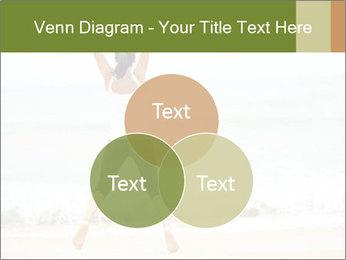 Girl on the beach PowerPoint Template - Slide 33