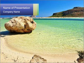 Ballos Bay PowerPoint Template - Slide 1
