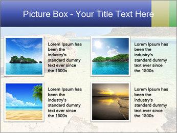 Ballos Bay PowerPoint Template - Slide 14