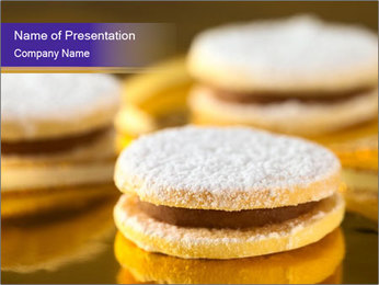 Peruvian cookies PowerPoint Template - Slide 1