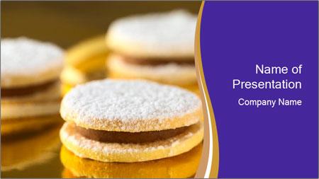 Peruvian cookies PowerPoint Template