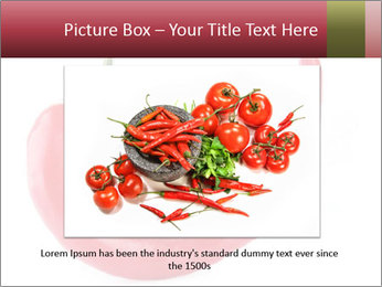 Red hot chili pepper PowerPoint Template - Slide 16