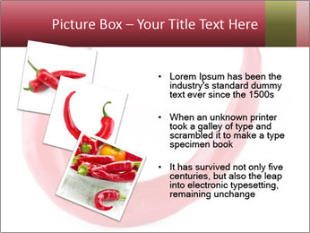 Red hot chili pepper PowerPoint Templates - Slide 17