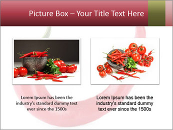 Red hot chili pepper PowerPoint Template - Slide 18