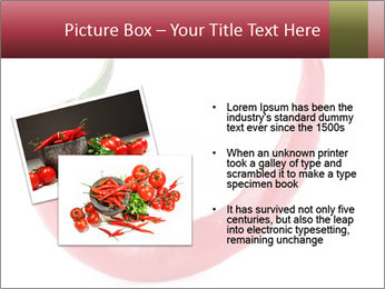 Red hot chili pepper PowerPoint Template - Slide 20