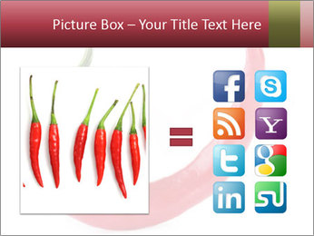 Red hot chili pepper PowerPoint Template - Slide 21