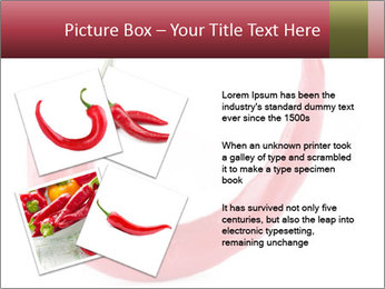 Red hot chili pepper PowerPoint Template - Slide 23