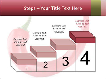 Red hot chili pepper PowerPoint Template - Slide 64