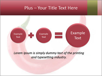 Red hot chili pepper PowerPoint Template - Slide 75
