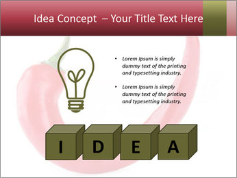 Red hot chili pepper PowerPoint Templates - Slide 80