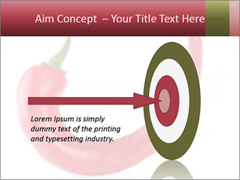 Red hot chili pepper PowerPoint Template - Slide 83