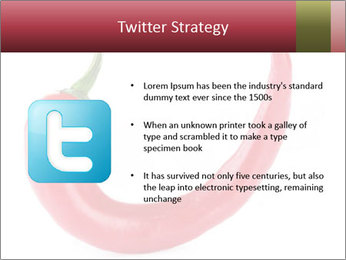 Red hot chili pepper PowerPoint Templates - Slide 9