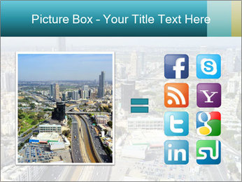 Aerial skyline PowerPoint Templates - Slide 21