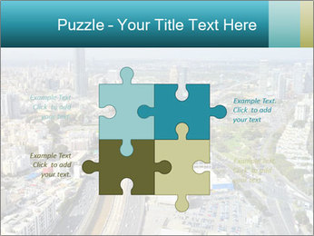 Aerial skyline PowerPoint Templates - Slide 43