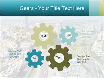 Aerial skyline PowerPoint Templates - Slide 47