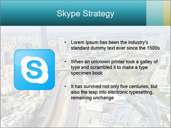 Aerial skyline PowerPoint Templates - Slide 8