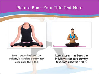 Young yoga woman PowerPoint Template - Slide 18