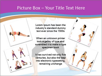 Young yoga woman PowerPoint Template - Slide 24