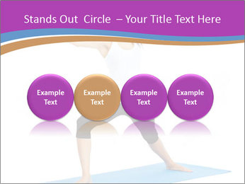 Young yoga woman PowerPoint Template - Slide 76