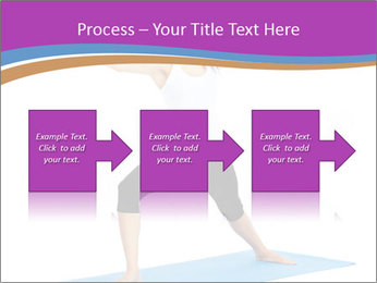 Young yoga woman PowerPoint Template - Slide 88