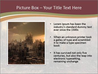 Dark apocalyptic PowerPoint Template - Slide 13