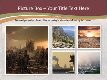 Dark apocalyptic PowerPoint Template - Slide 19