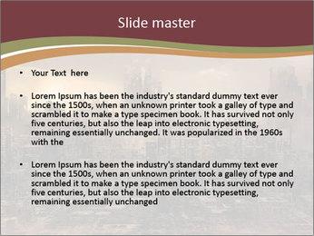 Dark apocalyptic PowerPoint Template