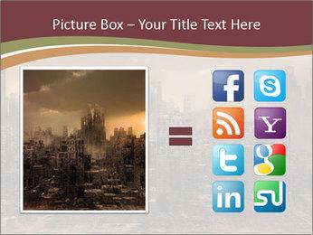 Dark apocalyptic PowerPoint Template - Slide 21