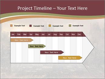 Dark apocalyptic PowerPoint Template - Slide 25