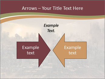 Dark apocalyptic PowerPoint Template - Slide 90