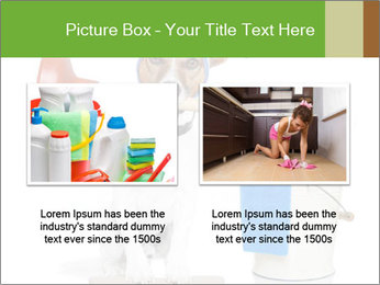 Cleaning dog PowerPoint Template - Slide 18
