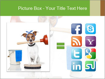 Cleaning dog PowerPoint Template - Slide 21
