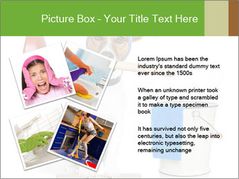 Cleaning dog PowerPoint Template - Slide 23