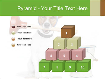Cleaning dog PowerPoint Template - Slide 31