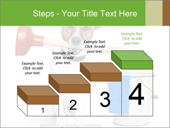 Cleaning dog PowerPoint Template - Slide 64
