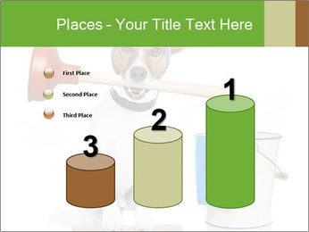 Cleaning dog PowerPoint Template - Slide 65