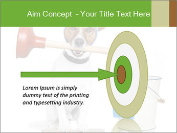Cleaning dog PowerPoint Template - Slide 83