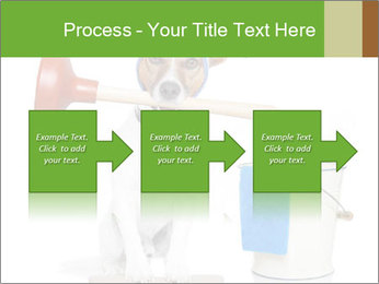 Cleaning dog PowerPoint Template - Slide 88